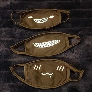 Funny faces masks